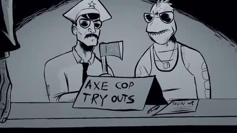 Axe Cop - The Beginning (Episode 2) - Rug Burn