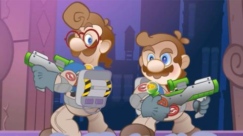 Super Mario Busters - A Ghostbusters / Super Mario Bros. Mashup  - James Farr