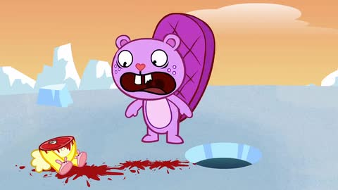 Snow Place to Go - Happy Tree Friends