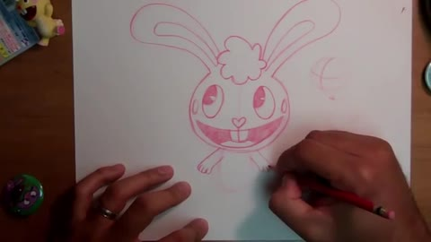 How to Draw Happy Tree Friends - Happy Tree Friends