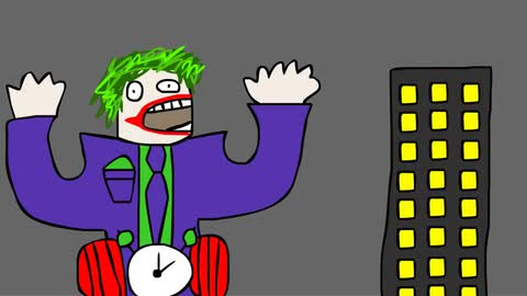 How To Draw The Joker  - Oliver Age 24