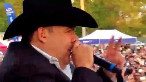 """El Coyote - Mi Gusto Es (En Vivo) - El Coyote """"Jose Angel Ledesma"""""""